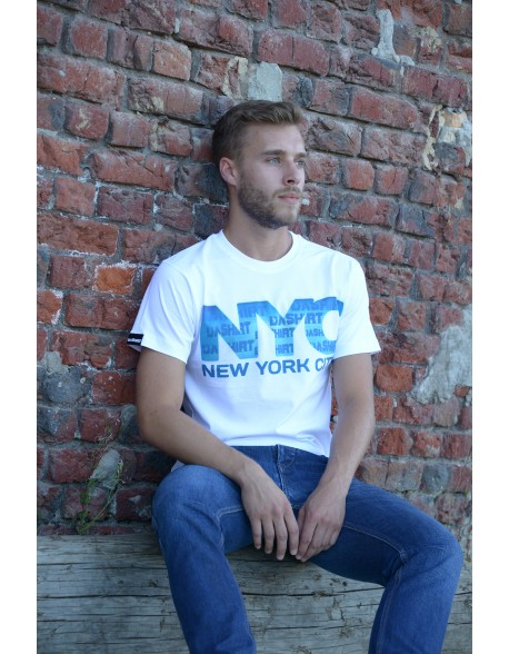 Dashirt NYcity Men Original White
