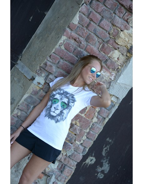 Dashirt Women Lion Summer