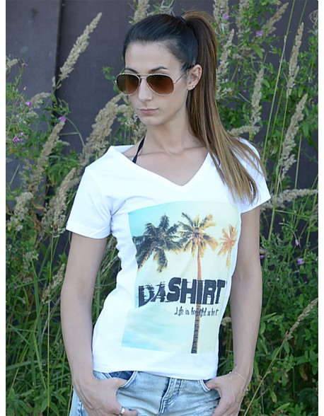 Dashirt Women Palms