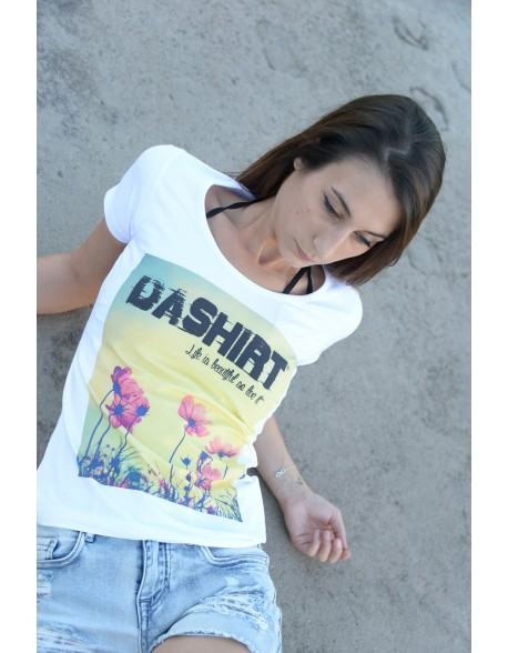 Dashirt Women flower