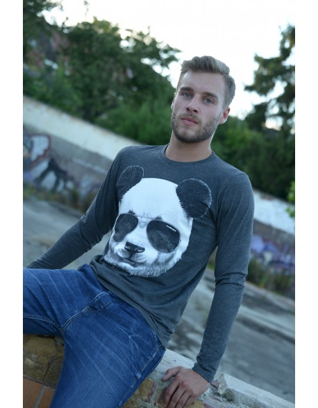 Dashirt Men Panda long shirt