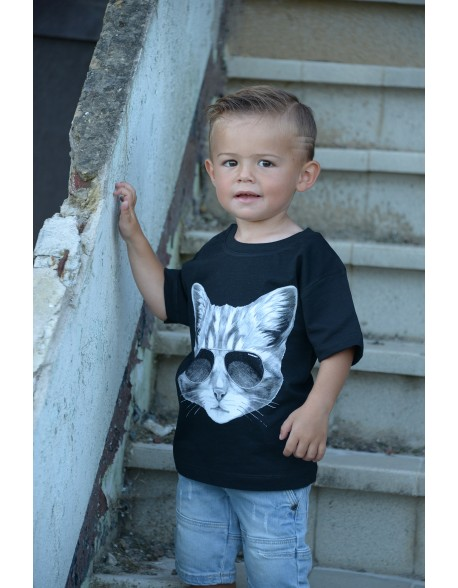 Dashirt Kids Cat
