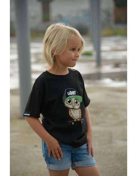 Dashirt Kids Owly petje green