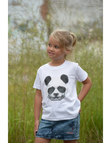 Dashirt Kids Panda White