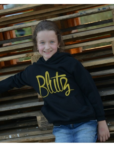 Blutz kids sweater Gold